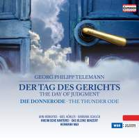 Telemann: The Day of Judgement & The Thunder Ode