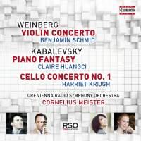 Weinberg: Violin Concerto & Kabalevsky: Piano Fantasy & Cello Concerto No. 1