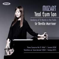 Mozart: Piano Concerto No. 21, Sonata K330, Variations in C on 'Lison dormait' & Fantasy K475