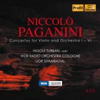 Paganini: Violin Concertos Nos. 1-6