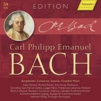 CPE Bach Edition: Symphonies, Concertos, Sonatas, Chamber Music