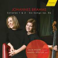 Brahms: Cello Sonatas Nos. 1 & 2 & Six Songs, Op. 86