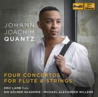 Quantz: Four Concertos for Flute & Strings