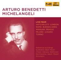 Arturo Benedetti Michelangeli: Live From Vatican City