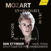 Mozart: Symphonies Nos. 25 and 40 & Sonata for 2 Pianos, K. 448