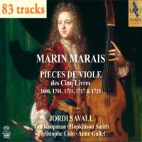 Marin Marais: Pieces for Viol from the Five Books