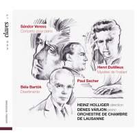 Veress, Bartók & Dutilleux: Works for Piano