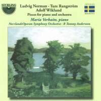 Norman, Rangström & Wiklund: Works for Piano & Orchestra