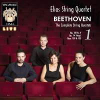 Beethoven: The Complete String Quartets Volume 1