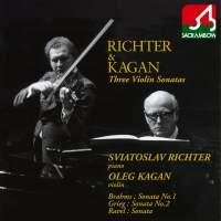 Richter & Kagan - Three Violin Sonatas