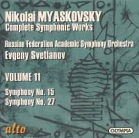 Myaskovsky - Complete Symphonic Works Volume 11