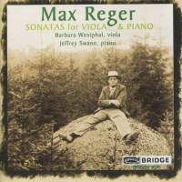 Max Reger: Sonatas for Viola and Piano