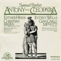 Barber: Antony & Cleopatra