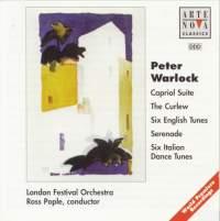 Warlock: Capriol Suite/The Curlew/6 Italian Dances/6 English Tunes