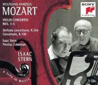 Mozart: Violin Concertos No. 1 - 5