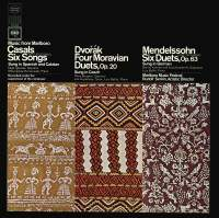 Music from Marlboro - Casals: Six Songs, Dvorak: Four Moravian Duets & Mendelssohn: 6 Duets