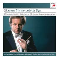 Leonard Slatkin... Conducts Elgar
