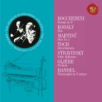 Heifetz and Piatigorksy: The Duo Collection - Heifetz Remastered