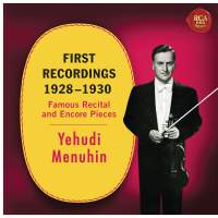 Yehudi Menuhin - First Recordings (1928 - 1930)