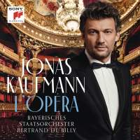 Jonas Kaufmann: L'Opéra (Standard Version: jewel case with 52-page black and white booklet)