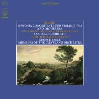 Mozart: Sinfonia Concertante, K. 364 & Exsultate, Jubilate, K. 165