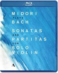 Midori plays Bach Sonatas and Partitas for Solo Violin