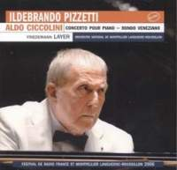Pizzetti - Concerto For Piano & Orchestra