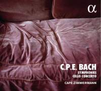 CPE Bach: Symphonies And Cello Concerto