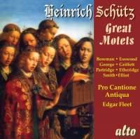 Heinrich Schütz: The Great Motets