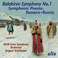 Balakirev: Symphony No. 1 & Symphonic Poems