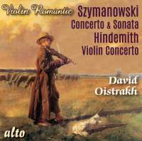 Szymanowski & Hindemith Violin Concertos
