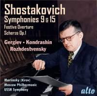 Shostakovich: Symphony Nos. 9 & 15
