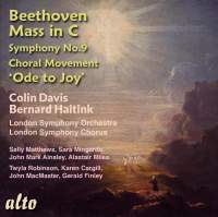 Beethoven: Mass in C & Symphony No. 9 'Ode to Joy'(4th Movement)