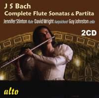 JS Bach: Flute Sonatas (complete, with Partita)
