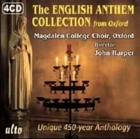 Anthology of English Anthems