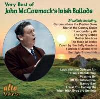 Very Best of John McCormack's Irish Ballads