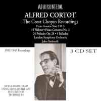 Alfred Cortot: The Great Chopin Recordings