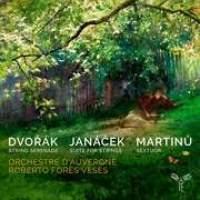 Dvořák, Janáček, Martinů: works for strings
