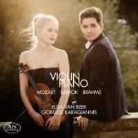 Mozart, Bartok & Brahms: Violin Sonatas