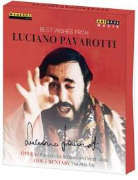 Best Wishes from Luciano Pavarotti