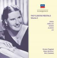 The Flagstad Recitals Volume 2