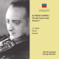 Alfredo Campoli: The Bel Canto Violin - Volume 1