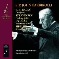 Strauss: Don Juan, Stravinsky: Firebird Suite, Dvorak: Symphony No. 8 & Sibelius: Symphony No. 2