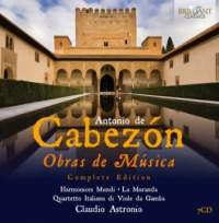 Cabezón, A: Obras de Música (Complete Edition)