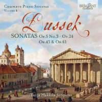 Dussek: Complete Piano Sonatas, Volume 4
