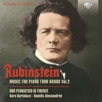 Rubinstein: Music for Piano 4 Hands Vol. 2