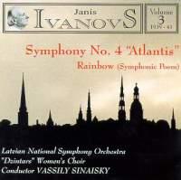 Janis Ivanovs: Orchestral Works Vol. 3