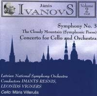 Janis Ivanovs: Orchestral Works Vol. 2