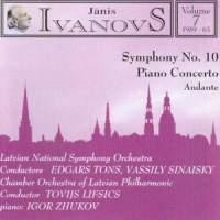 Janis Ivanovs: Orchestral Works Vol. 7