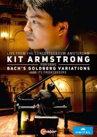 Kit Armstrong performs Bach's Goldberg Variations and its predecessors